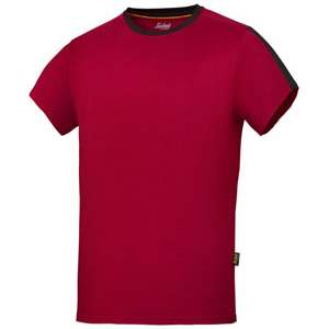 2518 T-shirt AllroundWork (kolor: chili) - Snickers Workwear