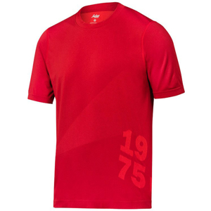 2519 T-shirt FlexiWork 37.5® (kolor: chili) - Snickers Workwear