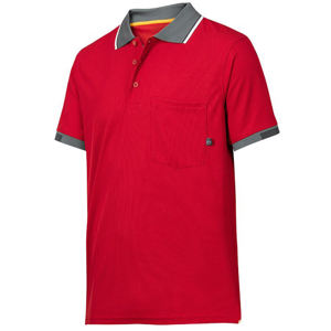 2724 Polo AllroundWork 37.5® (kolor: chili) - Snickers Workwear