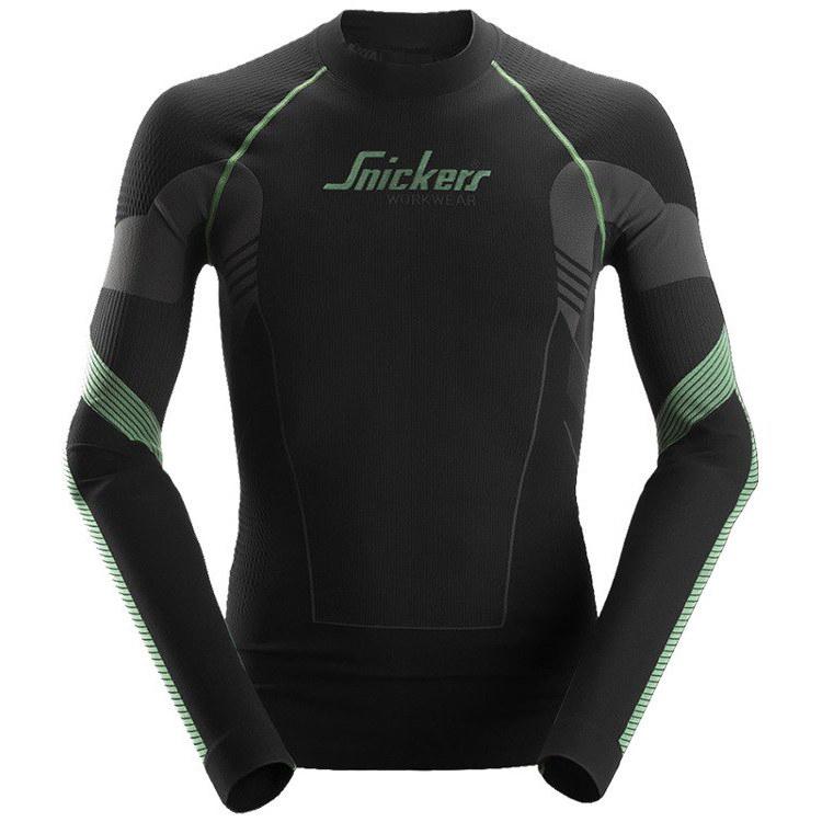 134c3ce595b8f9 ... 9425 T-shirt FlexiWork - długi rękaw, bezszwowy Snickers Workwear ...