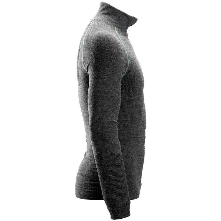 2131bcfad37fad 9441 T-shirt wełniany FlexiWork - długi rękaw, bezszwowy Snickers Workwear  ...