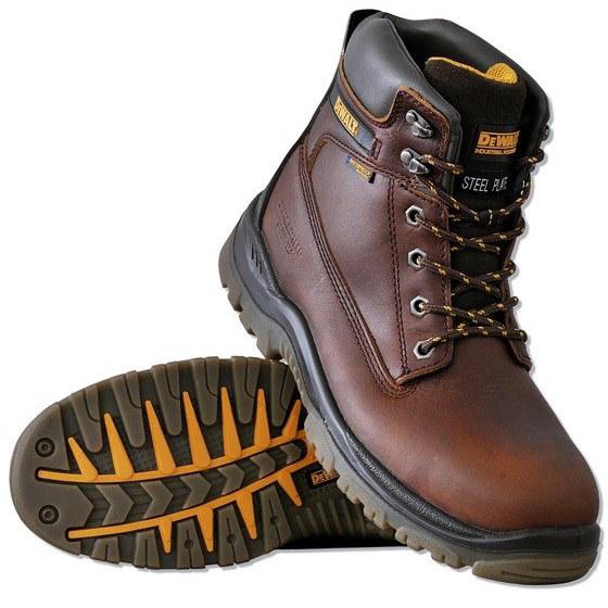 najlepiej online kup najlepiej klasyczne buty DeWalt Buty ochronne wodoodporne Titanium S3 SRA WR kolor BROWN