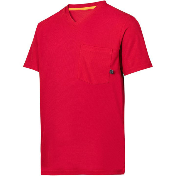 2524 T-shirt AllroundWork 37.5® (kolor: chili) - Snickers Workwear