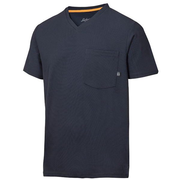 2524 T-shirt AllroundWork 37.5® (kolor: granatowy) - Snickers Workwear