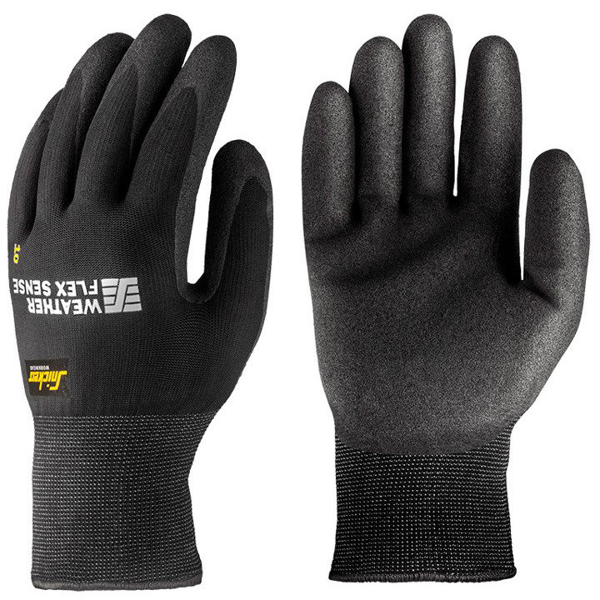 9319 Rękawice Weather Flex Sense 10 par Snickers Workwear